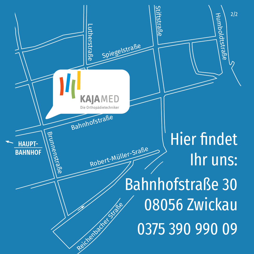 Anfahrt Zwickau Bahnhofstraße