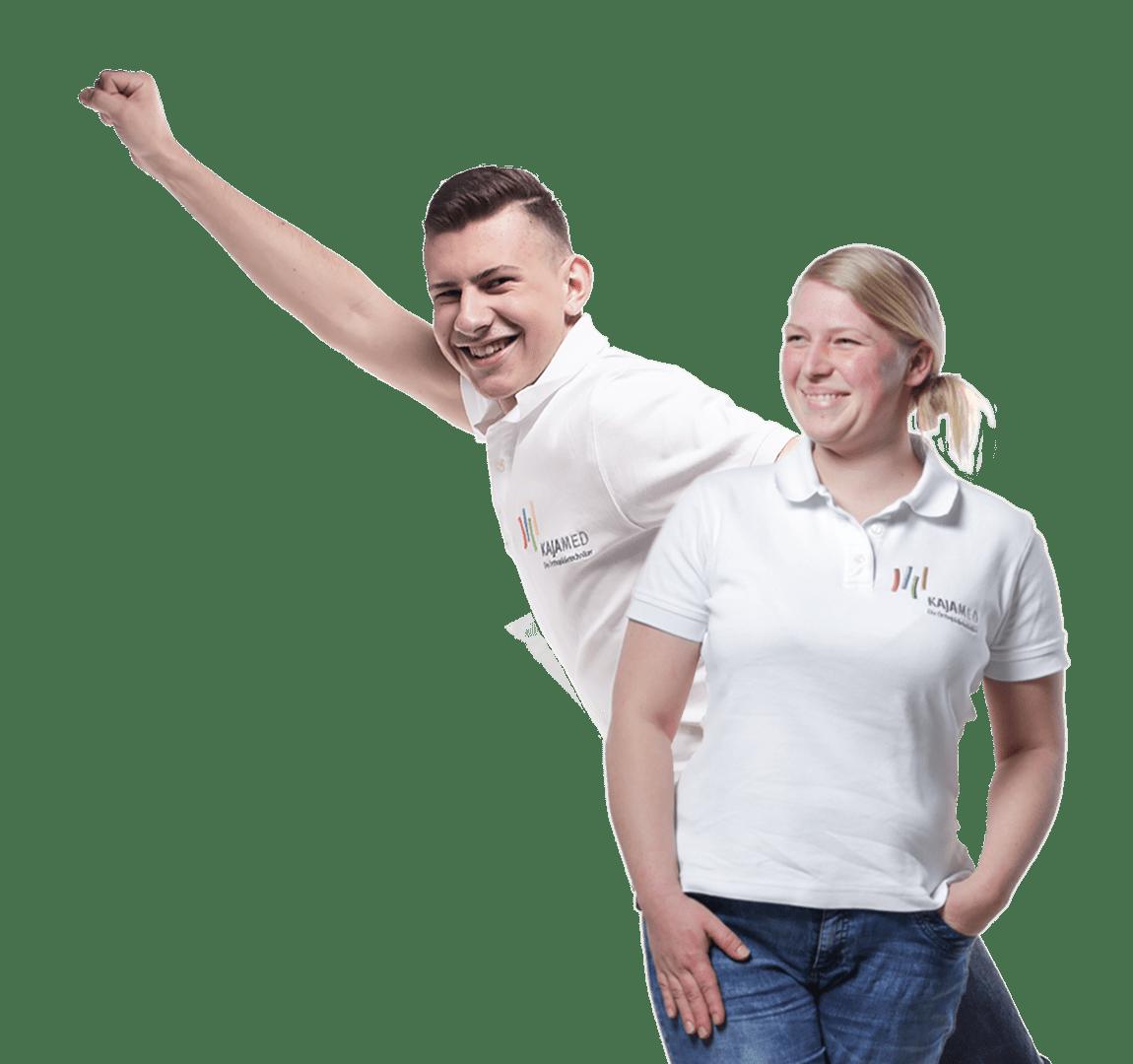 Joshua Rudolph und Sabine Rudolph Sportlerversorgung