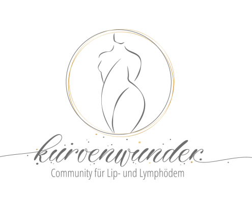 Kurvenwunder Logo Community für Lipödem und Lymphödem