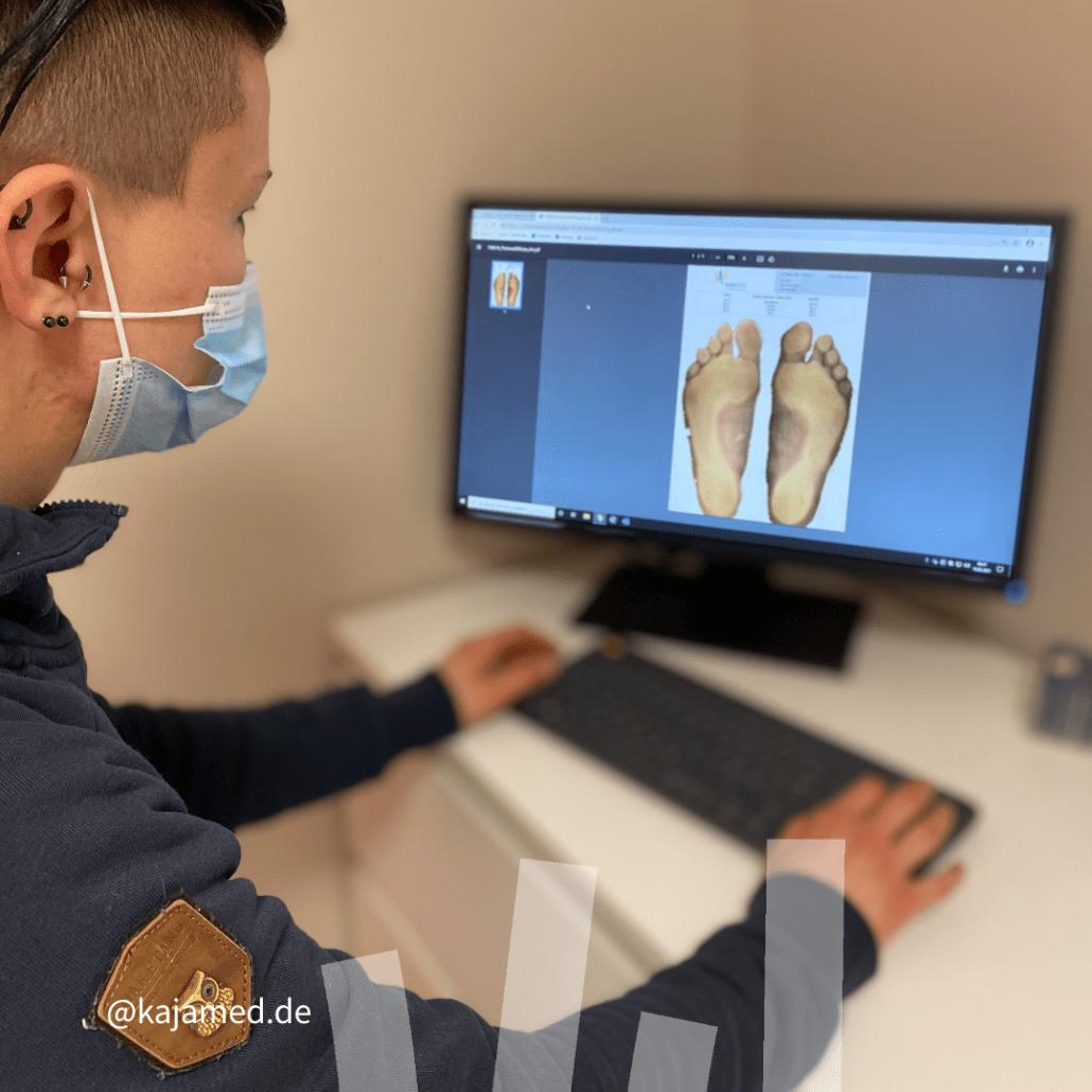 Fuß-Scanner zur optimalen Vermessung deiner Füße