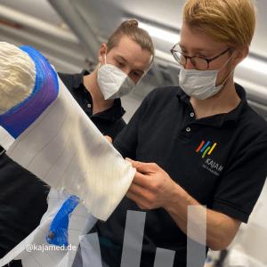 Inhouse Schulung Carbonfeder Orthesen