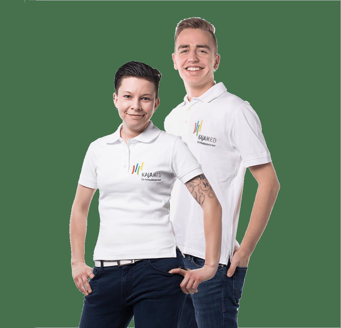 Nicole und Johannes unsere Experten für individuelle Schuheinlagen