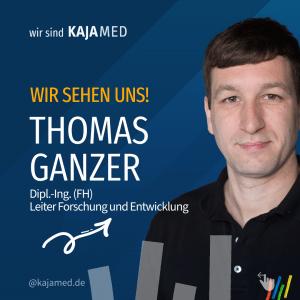 Thomas Ganzer, Forscher und Entwickler bei Kajamed.